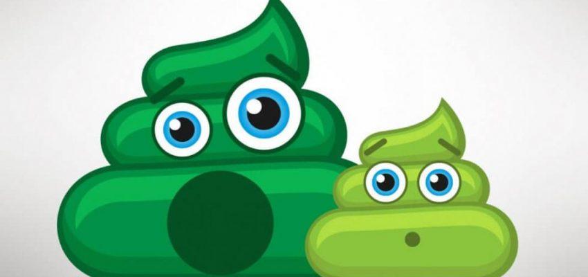 Feci verdi nel neonato: le cause