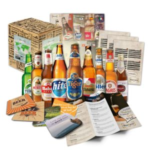 Regali Natale per lui - set birre dal mondo