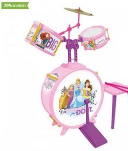Idee regalo Natale bambini da 6 anni - Batteria Disney Princess