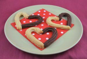 Biscotti a forma di cuore - san valentino