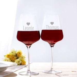 Bicchieri personalizzati - Regali San Valentino