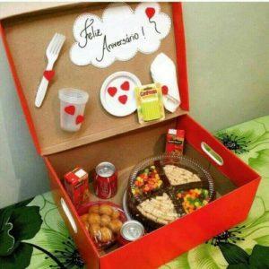 Food Box - idee regalo san valentino fai da te