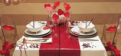 Cena san valentino te la trovo io - Idee tavola san valentino ...