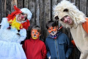 carnevale bioparco roma bambini