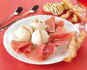 Ricette di palline di gelato al parmigiano