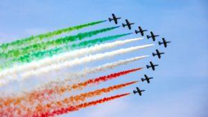 25 aprile roma frecce tricolori