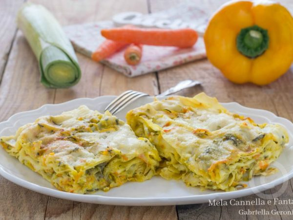 Lasagne vegetariane: ricetta per i vegani