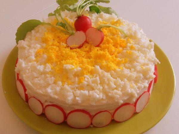 Ricetta Torta mimosa salata