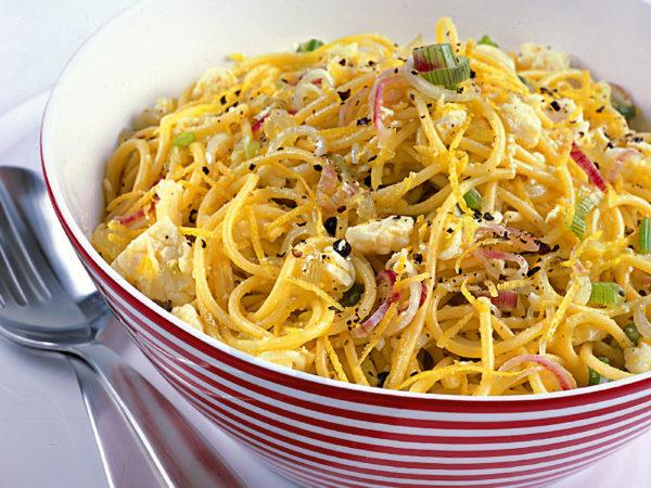 Ricette pecorino romano: spaghetti limone e pecorino