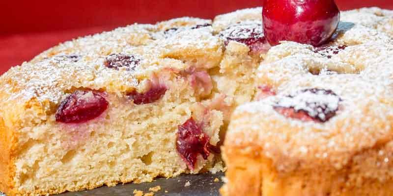 torta ciliegie dietetica