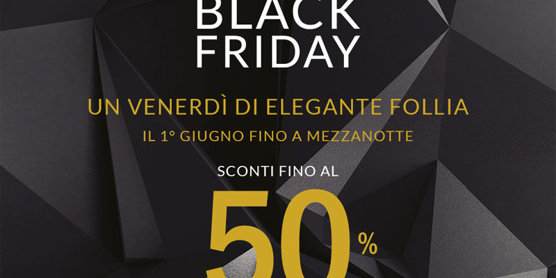 La Rinascente Roma, Black Friday: grandi sconti venerdì 1 Giugno