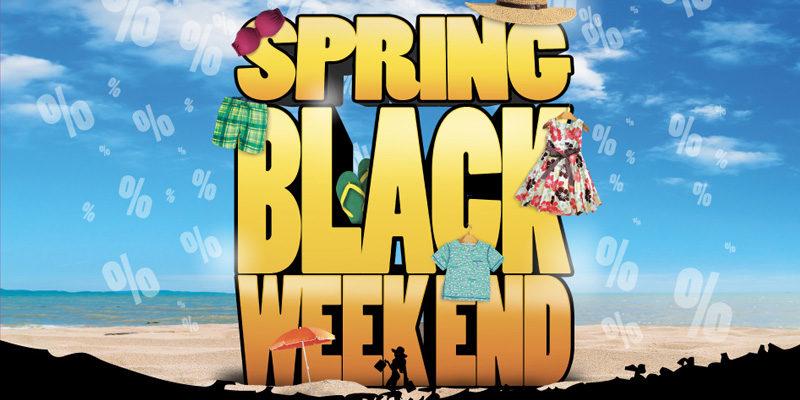 Spring Black Weekend a ROMA  ecco i centri commerciali che praticano gli  sconti 92b5626bc7f
