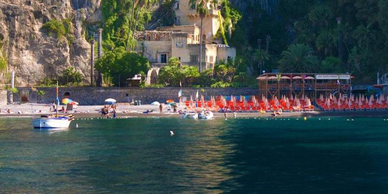 Le spiagge di Napoli: Arienzo
