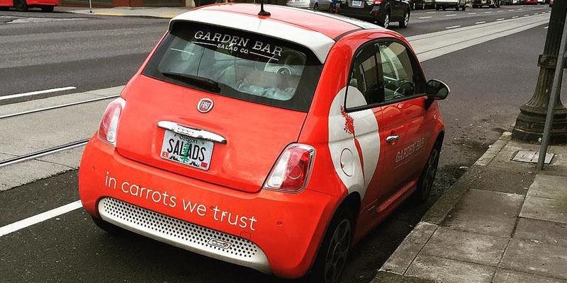 Auto con pubblicità : auto gratis