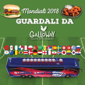 mondiali 2018 roma dove vederli