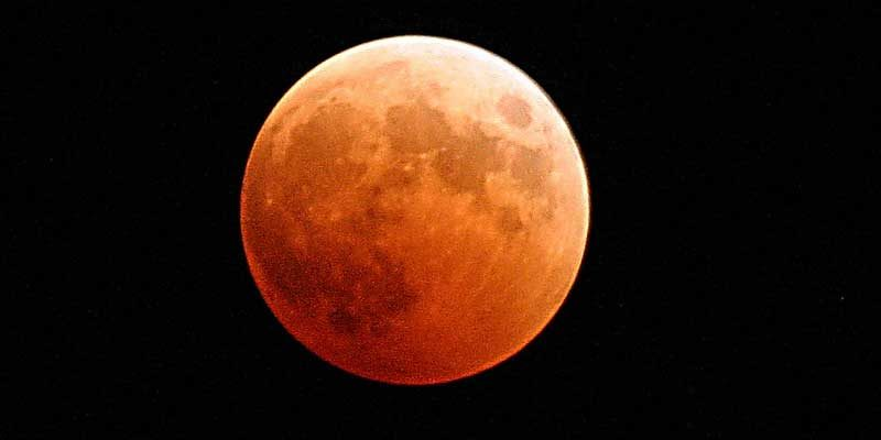Eclissi di Luna Gennaio 2019: dove si vede a Roma la luna rossa