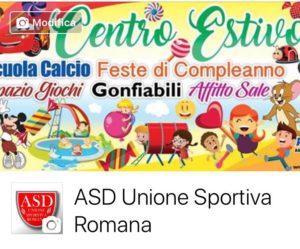 sala compleanno nuovo salario asd unione sportiva romana