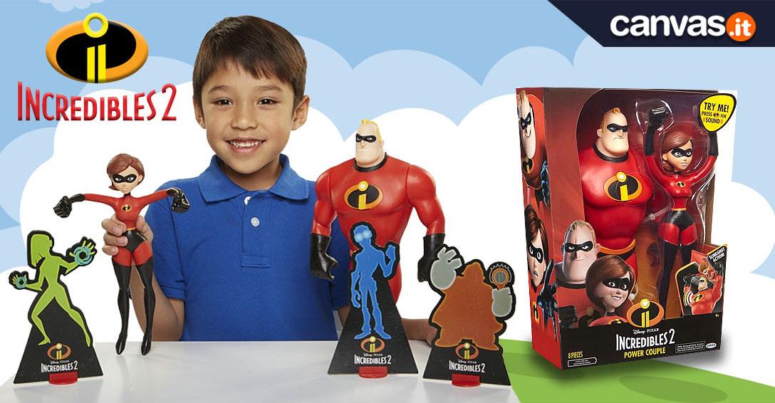 Incredibili 2 personaggi giocattoli