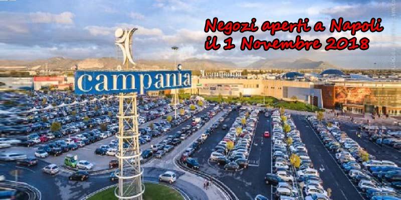 Negozi aperti 1 Novembre 2018 Napoli