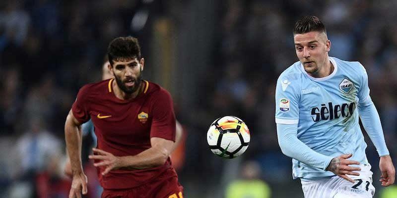 Derby Roma Lazio 2018, dove si vede a Roma