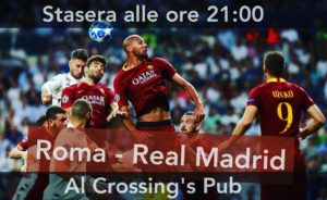 roma-real-madrid partita dove vederla