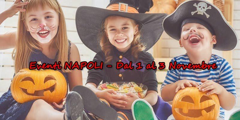 Ponte 1 novembre 2018 con bambini: cosa fare a Napoli per il ponte ognissanti