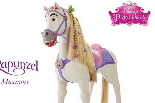 Cavallo delle principesse: Maximus, cavallo cavalcabile bambini. Ottima idea regalo per Natale