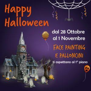 halloween a Roma Est centro commerciale