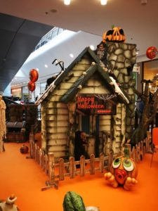 halloween centro commerciale roma est