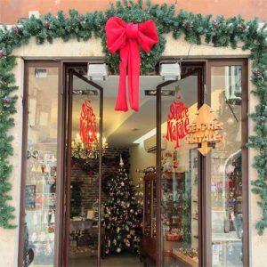negozio roma natali addobbi