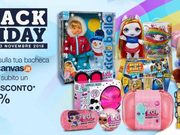 Black Friday giocattoli on line 2018: ecco dove comprare i giochi a prezzo scontato