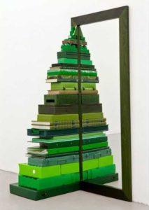 Albero di Natale fai da te idee originali 2018: Albero con OGGETTI DI CASA