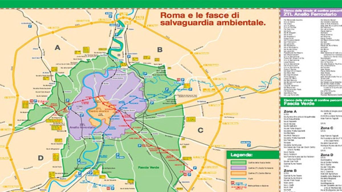 Cartina Stazione Roma Termini