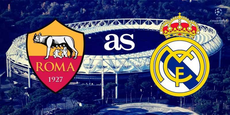 Roma Real Madrid tv