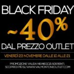 black friday roma centro commerciale valmontone