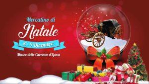 mercatino natale roma museo carrozze
