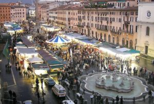 mercatino piazza navona natale