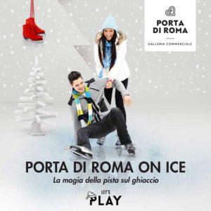 pista di pattinaggio sul ghiaccio roma