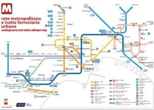 Metropolitana Napoli 31 Dicembre 2018