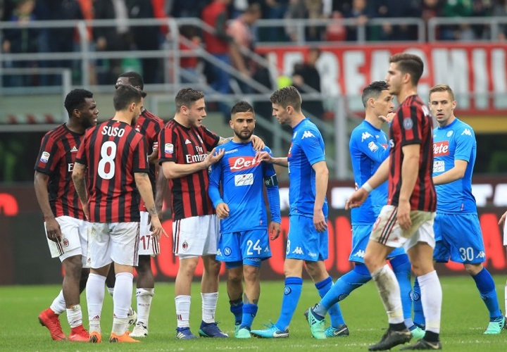 Milan Napoli dove vederla