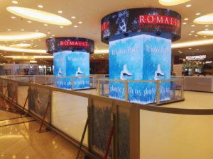 Pista di pattinaggio sul ghiaccio Roma Est