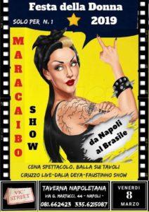 8 marzo 2019 festa delle donne Napoli