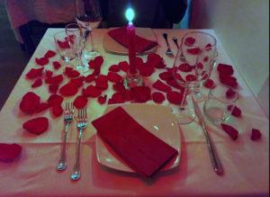 dritta per una cena romantica Roma le magnifique