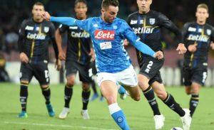 Dove vedere partite Napoli 2019: PARMA - NAPOLI