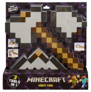 Minecraft giocattoli prezzo: pala, ascia e spada