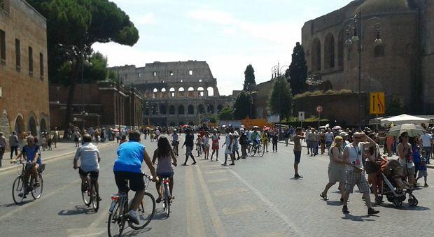 Roma 25 aprile strade chiuse