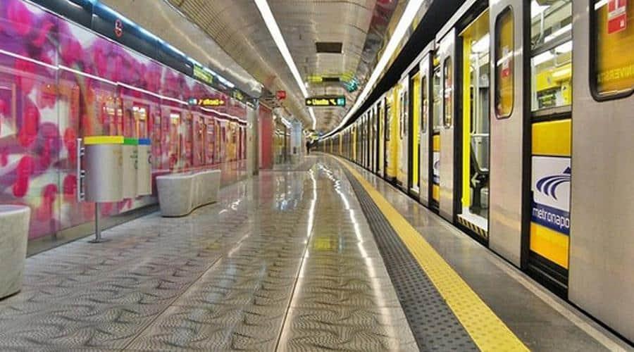 Metro Napoli Pasquetta 2019