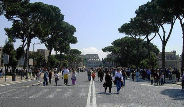 Roma blocco traffico Domenica 12 Maggio: mappa