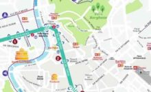 Cartina Della Fascia Verde A Roma.Dettagliata Roma Anello Ferroviario Mappa