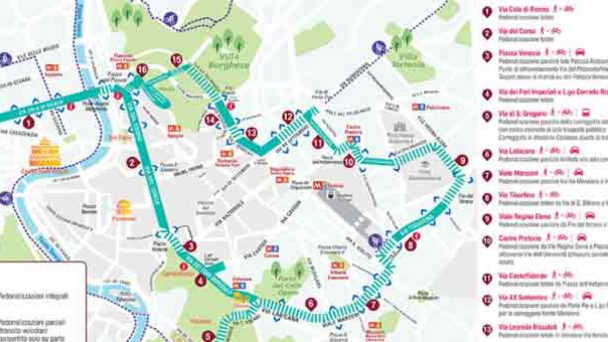 Cartina Della Fascia Verde A Roma.Roma Domenica Ecologica Marzo 2020 Fascia Verde Te La Trovo Io